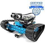 Makeblock mBot Ranger, Kit de Robot programable para Que los niños aprendan codificación, Kit de Robot Educativo 3 en 1, Tres Formas, versión Bluetooth, Azul, Steam Education