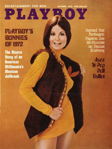 Playboy Bunny Kostüm Original - US Playboy Magazin Oktober 1972 Zeitschrift