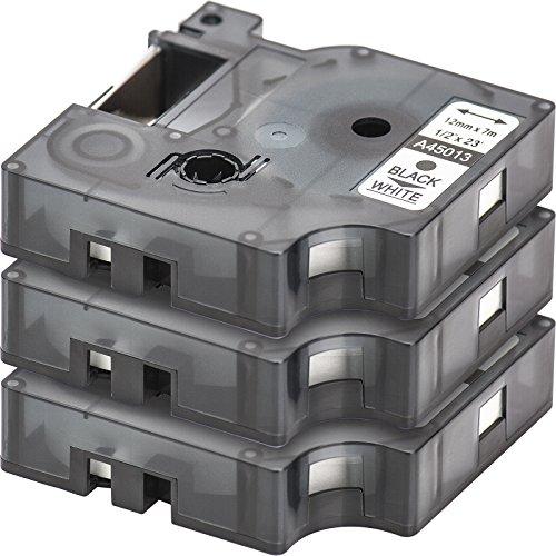 3x-ruban-pour-etiqueteuse-compatible-remplace-dymo-d1-45013-noir-sur-blanc-12mm-x-7m-pour-dymo-label