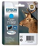 Epson Original T1302 Tinte Hirsch, wisch- und wasserfeste (Singlepack) cyan XL