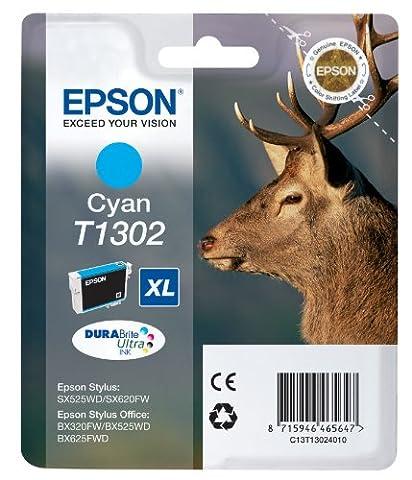Epson Cartouche - Epson - T1302 - Cartouche d'Encre d'Origine