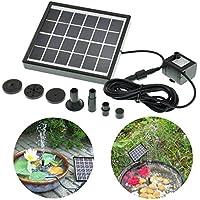Bluelover 5V 1.5 w Solar Power DC Brushless sommergibile acqua pompa giardino paesaggio fontana
