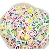Bunte Acryl Buchstaben A-Z schöne Ornamente für DIY Schmuck