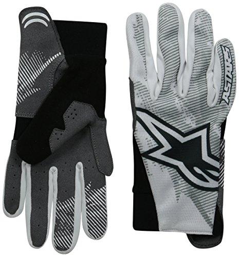 Alpinestars Herren Aero Fahrrad Handschuhe XL Grau/Weiß