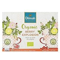 Dilmah Organic Berry Explosion Tea, 40 g