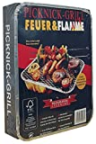 Feuer & Flamme - Picknick-Grill - 1St