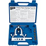 Draper 51762-DP Brake Pipe Flaring Kit (7 Piece), Blue
