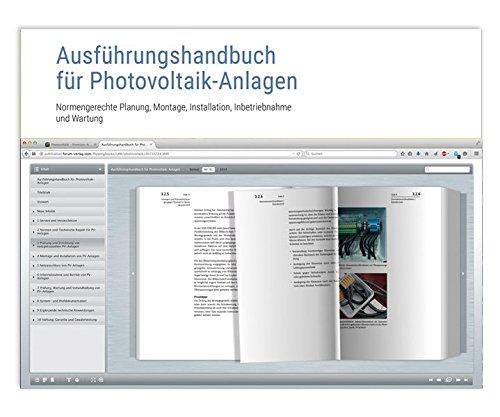 Ausführungshandbuch für Photovoltaik-Anlagen: Online-Ausgabe