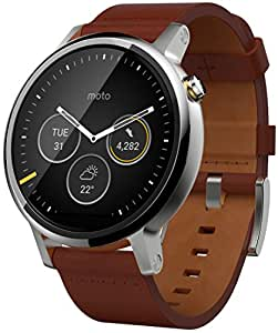 Motorola Moto 360 Mens Large Smartwatch and Heart Rate ...