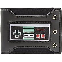 Cartera de Nintendo NES tachonado Negro