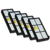 [YanBan] 12er-Wertpaket Staubsauger Ersatzteile HEPA Filter Geeignet für iRobot Roomba 800/ 900 Serie Staubsauger