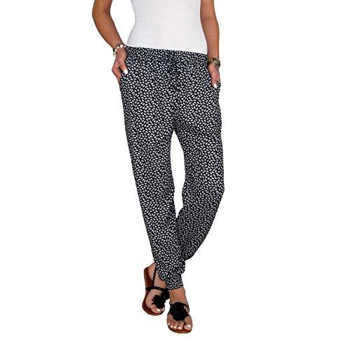 DB Damen Sommerhose mit dekorativem Muster (One Size, M 06)