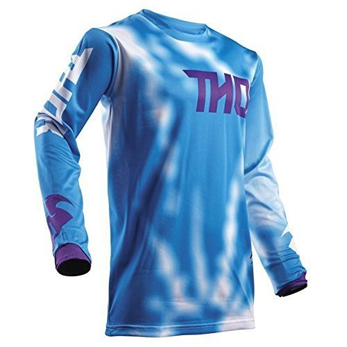 THOR PULSE AIR YOUTH Motocross Kinder Jersey 2018 - blau -