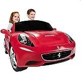 Auto Elettrica Ferrari California 12V - Questa Ferrari è un eye-catcher reale per tutti i ragazzi e naturalmente anche per le ragazze. - batteria da 12 volt, 5 km/h - Avanti e indietro - Per i bambini dai 3 anni - Dimensioni: 132 x 69 x 51,5 ...