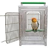 HappyBird ® | Transportbox aus Acryl für Sittiche & Papageien