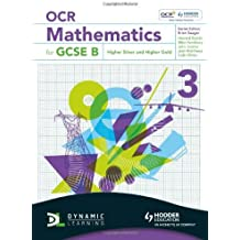 OCR Mathematics for GCSE Specification B - Student Book 3 Higher Silver & Gold (OBMT) by Mark Patmore (25-Mar-2011) Paperback