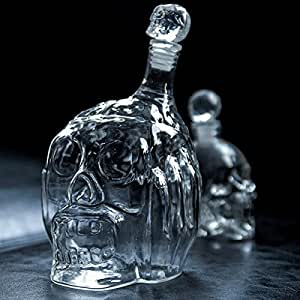 ZOYO 650 ml épais non-verre trempé Zombie Head vin Decanter - Transparent
