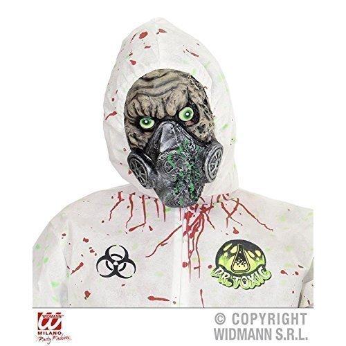 Maske Bio - Unfall mit Gasmaske / Halbmaske Halloween / Kostümzubehör (Sturm Kostüme Für Erwachsene)