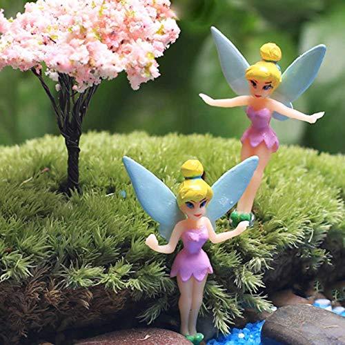 r Fee Garten Ornament Pflanzkübel Handwerk Puppenhaus Dekoration für Zuhause Dekoration - Zufällige Farbauswahl ()