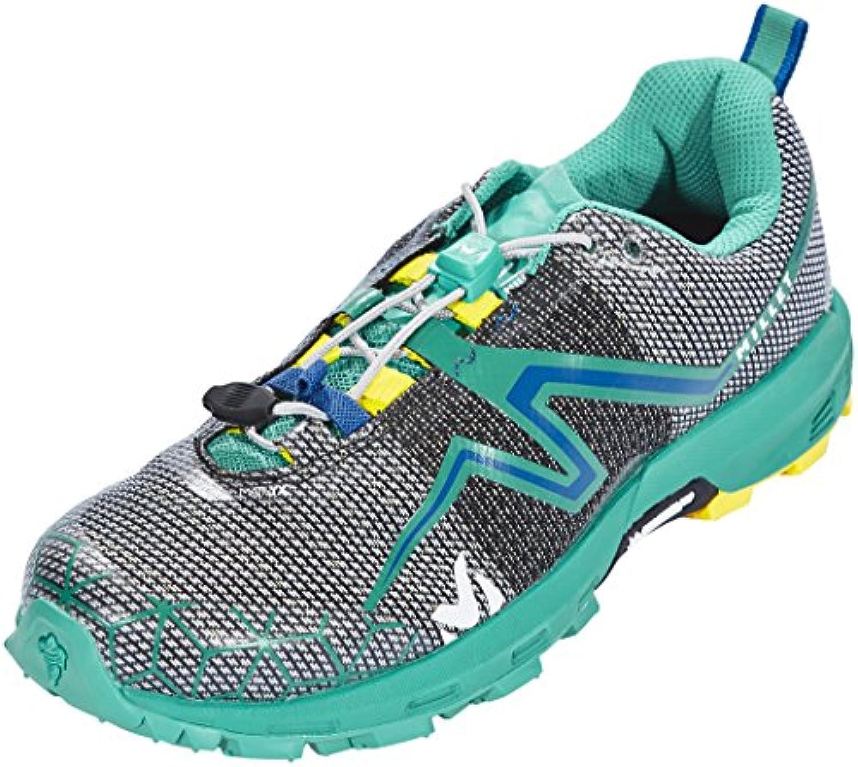 Millet LD Light Rush Zapatillas de Trail Running, Mujer, Multicolor (Dynasty Green/Butter Cup 000), 38 EU