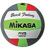 Mikasa VXS-BFL-Pallone da pallavolo, colore: verde/grigio/rosso,...