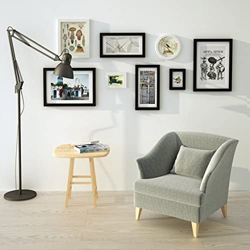 Foto parete soggiorno in legno massiccio grande telaio parete parete muro parete parete creativo combinazione camera da letto moderna semplice parete foto in stile europeo ( Coloree   1  ) 9c248d