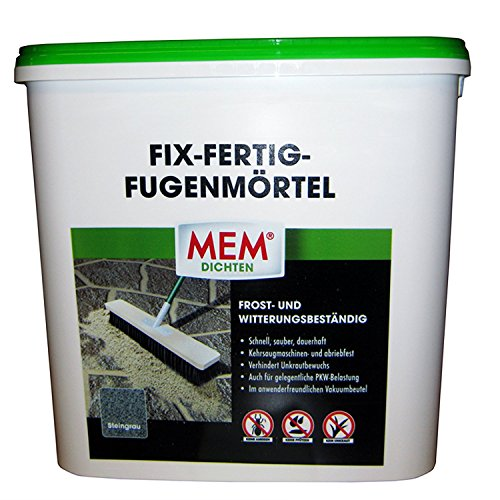 MEM Fix&Fertig Fugenmörtel, steingrau, 12,5 kg