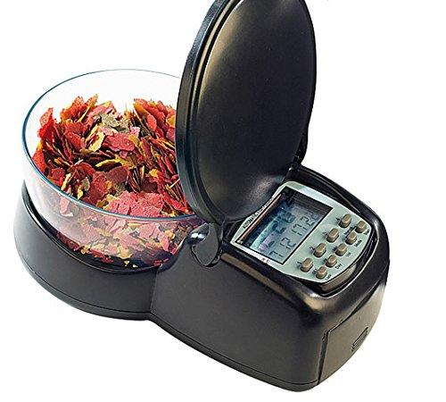 Dosatore cibo pesce elettronico