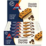 Atkins DB Chocolate Chip Crisp Individual Barritas - Paquete de 15 barritas x 30 gr - Total: 450 gr