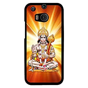 MOBO MONKEY Printed Hard Back Case Cover for HTC One M8 - Premium Quality Ultra Slim & Tough Protective Mobile Phone Case & Cover