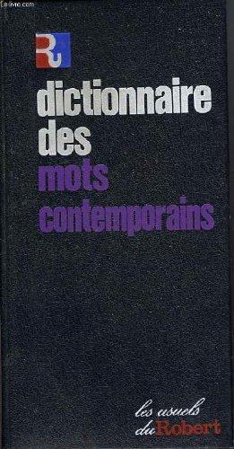 Dictionnaire des Mots Nouveaux Contemporains