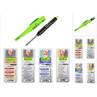 Pica DRY Longlife Automatic Pen Baumarker Tieflochmarker + 36 tlg. Ersatzminen-Sets