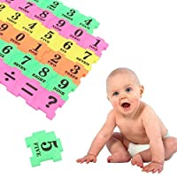 Dyyicun12 Math Learning Kids Toys, 36Pcs Baby Children Number Symbol Multicolor Puzzle Maths Educational Toy Gifts