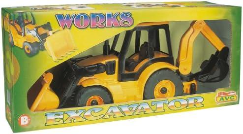 AVC Avc5210 68 x 22 x 31 31 31 cm rétro sur la route Excavatrice en boîte | Excellent (dans) La Qualité  f20e6d