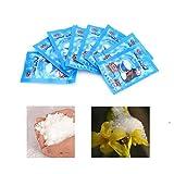 Haorw Magic Snow Powder Instant Snow Schneepulver, Kunstschnee, 10 Stück