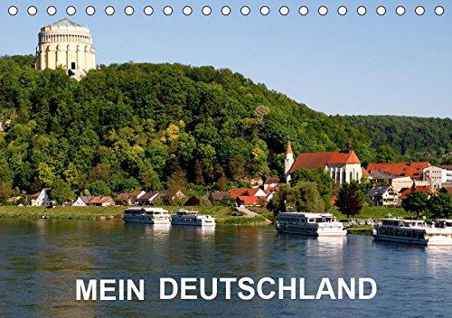 MEIN DEUTSCHLAND (Tischkalender 2019 DIN A5 quer): Eine Reise durch Deutschland (Monatskalender, 14 Seiten ) (CALVENDO Orte)