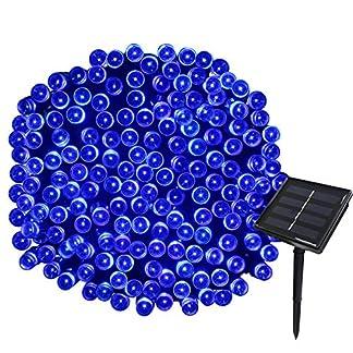 Yasolote 22M Guirnalda de Luces de Energía Solar 8 Modos Impermeable 200 LED para Decorar Patio, Jardín, Terraza, Boda, Fiesta, Navidad