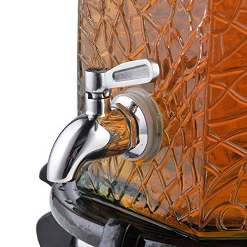 Dispensador de agua con grifos de acero inoxidable 304 para bebidas frías y zumos de repuesto 16 mm As Picture Show