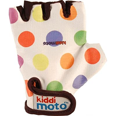 Pastel Dotty Bike Gloves by Kiddimoto