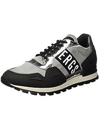 Bikkembergs Fend-er 739 Low Shoe M Rubber Leather/Fabric, Sandalias con Plataforma para Hombre