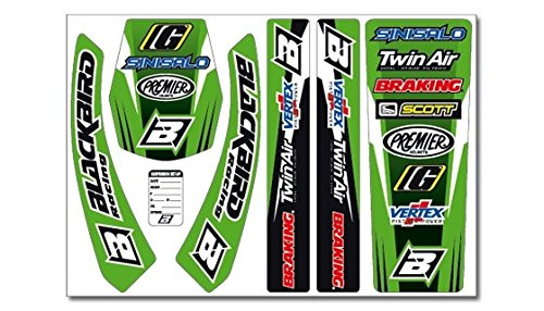 BLACKBIRD RACING - Kit Adhesivos Standard Kawasaki