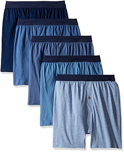Hanes Men's 5-Pack FreshIQ ComfortSoft Boxer with ComfortFlex Waistbands