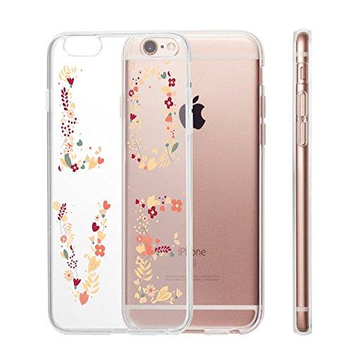 iPhone 6s Plus/iPhone 6 Plus Cover (5.5 pollici),Transparent Custodia Antiuroto Ultra Sottile Bumper Soft Morbido TPU Gel Silicone Protettiva Case per iPhone 6s/iPhone 6 Gel di silice 8