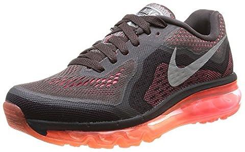 Nike Air Max 2014 Damen Laufschuhe, Schwarz (Dk Vlt Or/Rflct Slvr-Hypr Pnch 200), 38.5