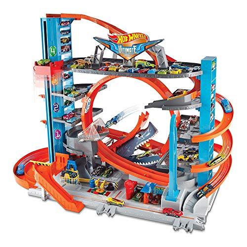 Hot Wheels Garage delle Acrobazie Playset con Pista...