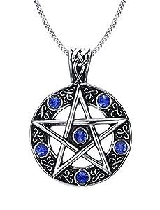 VNOX Acero Inoxidable Azul Cristal