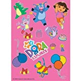 Dora The Explorer Stickers - Pack of 8 Sheets