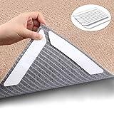 Dricar Teppichgreifer Antirutschmatte für Teppich waschbar wiederverwendbar Teppichunterlage Teppichstopper