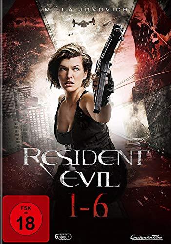 Resident Evil 1-6 Komplettbox (6 DVDs)