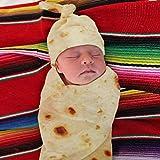 Hunpta@@ - Copertina per Neonati, Sacco a Pelo per Passeggino, per Bambini e Bambine, Coperta Burrito per Farina, Tortilla, Tessuto, Beige, A
